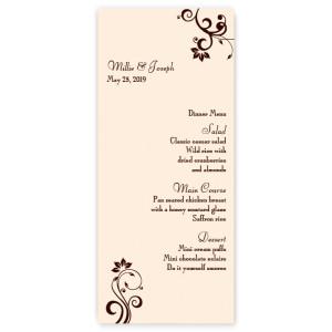 Millie Menu Cards