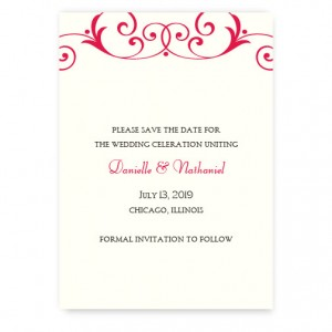 Gabriella Save the Date Cards