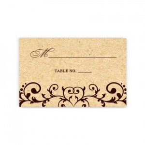 Emma Seating Cards