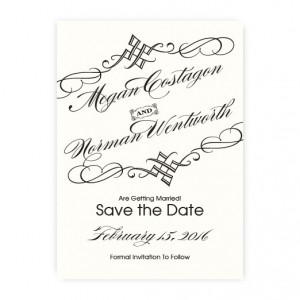 Bailey Thermography Save the Date Cards