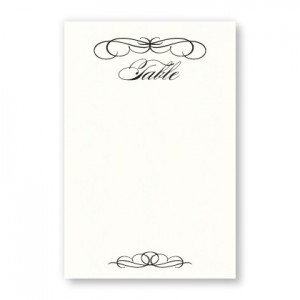 Bailey Thermography Table Cards