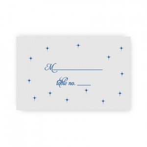 Macy Thermography Seating Cards