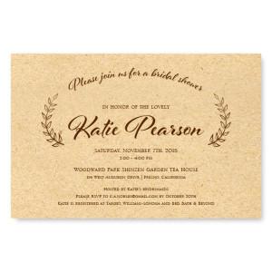 Laurel Bridal Shower Invitations