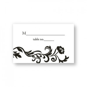 Inspiration Seating Cards