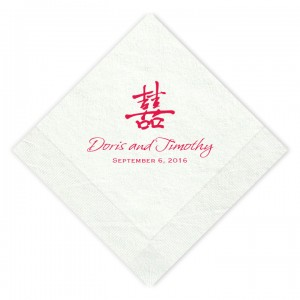 May Luncheon Napkins