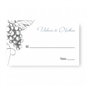 Vineyard Seating Cards