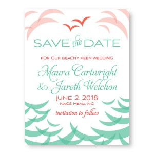 Ocean Save The Date Cards