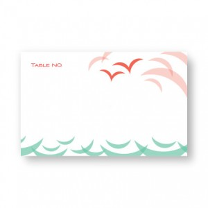 Ocean Seating Cards