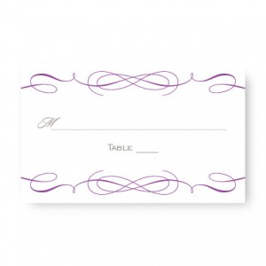 Romance Seating Cards
