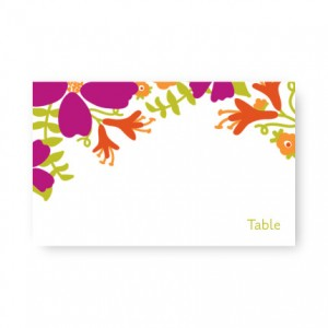 Bloom Seating Cards