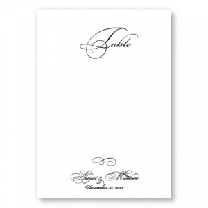 Grace Table Cards
