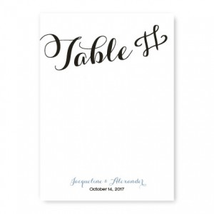 Darling Table Cards