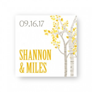 Birch Favor Tags