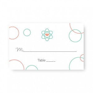 Chemistry Seating Cards