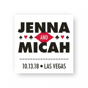 Vegas Favor Tags