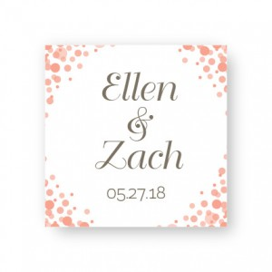 Confetti Favor Tags