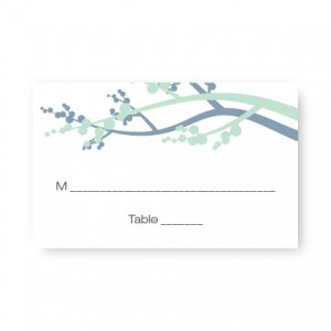 Winter Berry Seating Cards