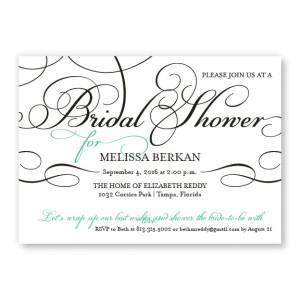 Bella Bridal Shower Invitations