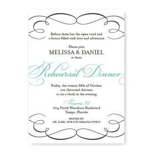 Bella Rehearsal Dinner Invitations