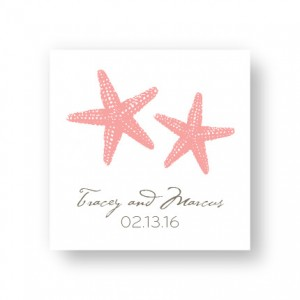 Starfish Favor Tags