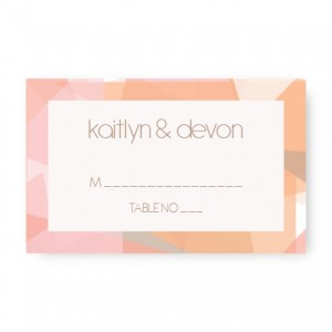 Gemstone Seating Cards