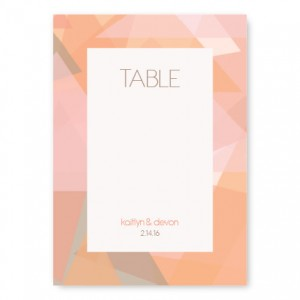 Gemstone Table Cards