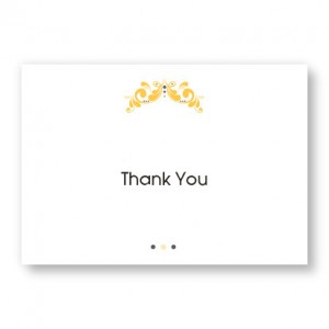 Tuxedo Thank You Cards