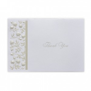 Wedding Roses Thank You Cards