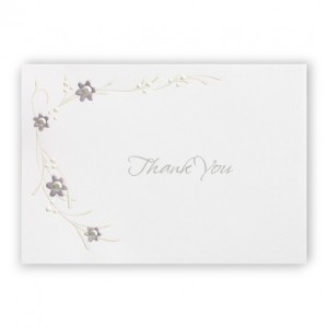 Passionate about Diamonds Thank You Cards