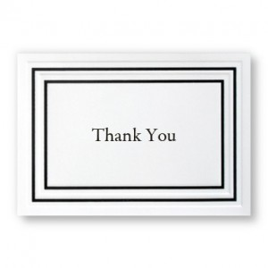 Mr. & Mrs. Thank You Cards