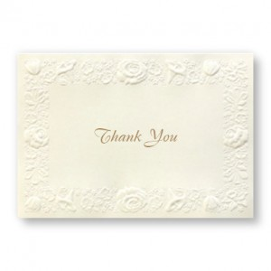 Rosemont Thank You Cards