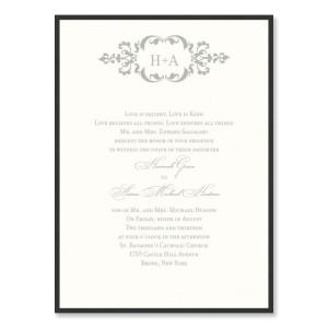 Cecilia 2-Layer Wedding Invitations
