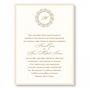 Hannah 2-Layer Wedding Invitations