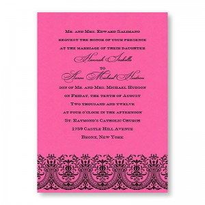 Victoria Wedding Invitations