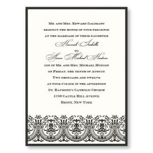 Victoria 2-Layer Wedding Invitations