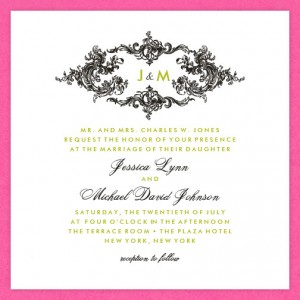 Astoria Wedding Invitations