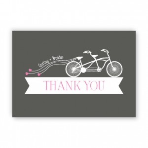 Ruby Thank You Cards