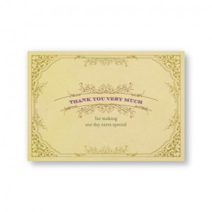 Melanie Thank You Cards