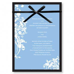 Venetian Romance Wedding Invitations