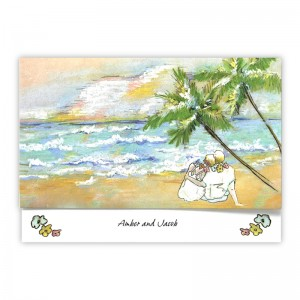 Sand in Your Toes Beach Wedding Invitations