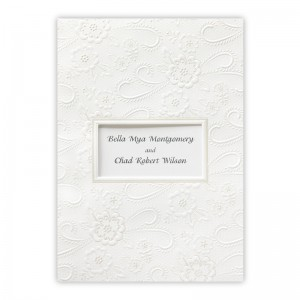 Chantilly Ecru Wedding Invitations