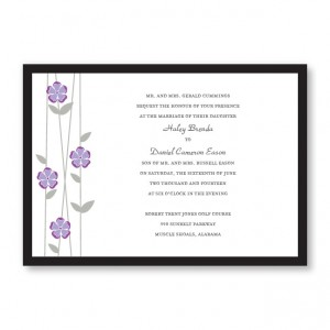 Flirtation Wedding Invitations