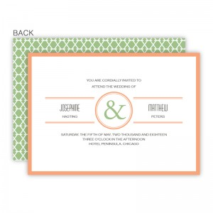 Elle Wedding Invitations