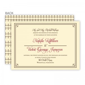 Gretchen Wedding Invitations