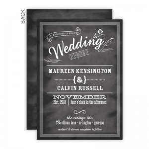 Margo Wedding Invitations SAMPLE