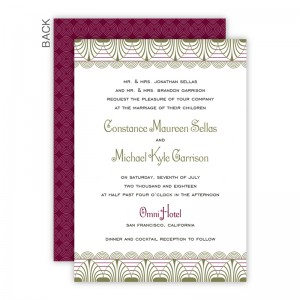 Piper Wedding Invitations
