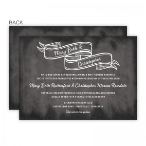 Delaney Wedding Invitations