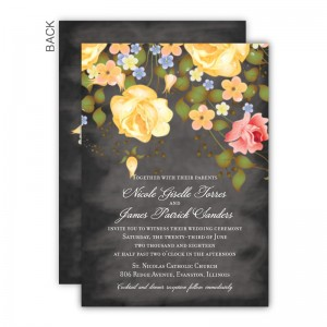 Karina Wedding Invitations SAMPLE