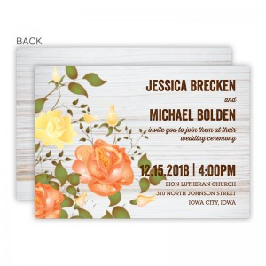 Arianna Wedding Invitations SAMPLE