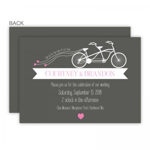 Ruby Wedding Invitations